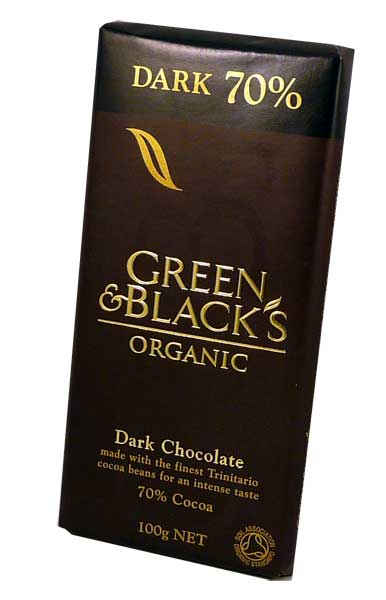 Green And Blacks Organic 70 Dark Chocolate Bars Libifit