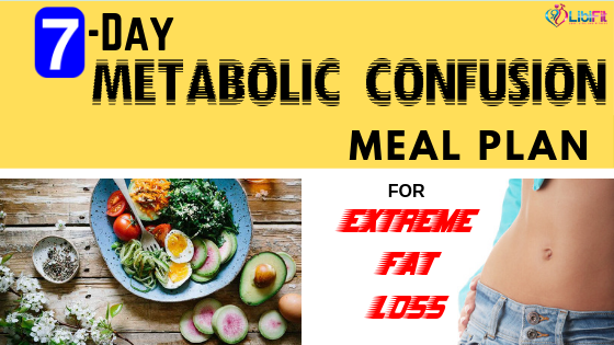 7 Day Easy Metabolic Confusion Meal Plan For Extreme Fat Loss Libifit