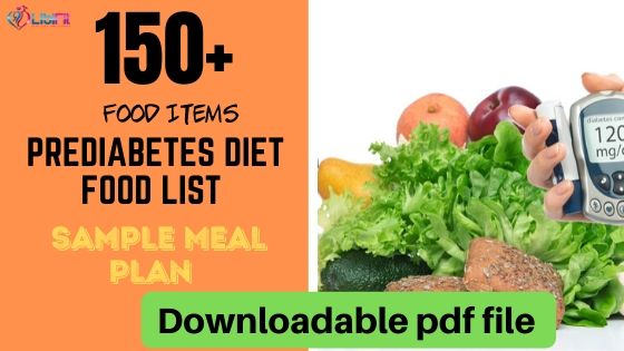 Prediabetes Food List And Sample Meal Plan To Reverse Diabetes